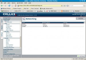 Settings -> Network -> Configuration