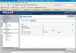 Configuring Spam Filters