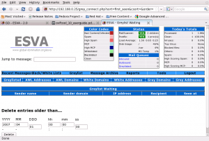 Delete greylist entries older than specified date and time